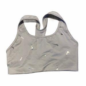 Nike Grey Sport Bra